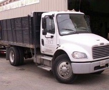 Landscape truck used by Environmental Construction, Kirkland WA