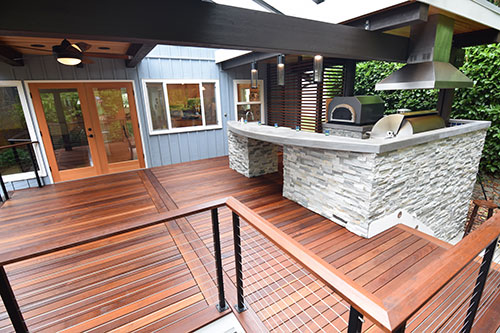 Seattle outdoor kitchen